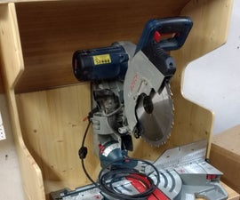 Build a dust extraction cabin for the miter saw