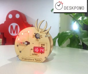 DeskPomo----pomodoro Timer to Improve Your Working Productivity.