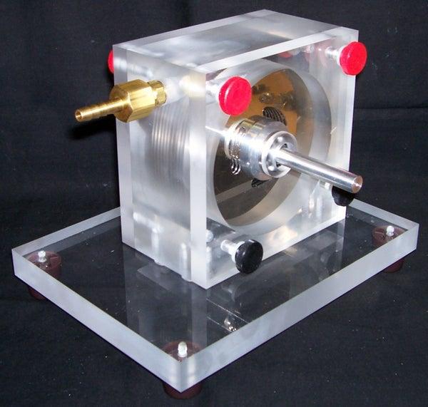 Build a 15,000 Rpm Tesla Turbine Using Hard Drive Platters