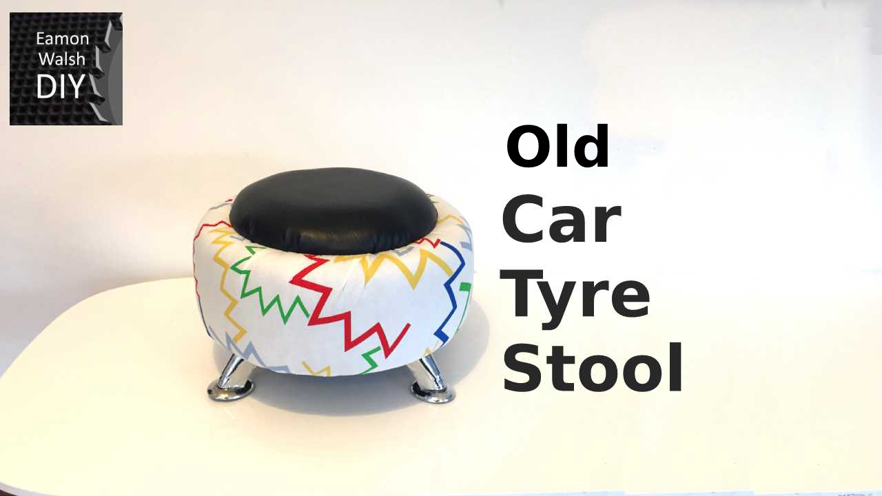 Picture of Old Car Tyre Stool