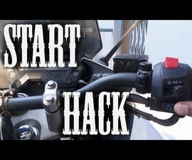 Start Bike Hack - During Self Motor or Kicker or Battery Problem ( Starting Trouble )