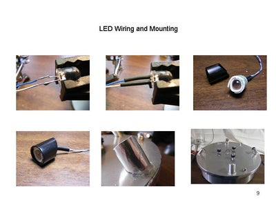 LED Mounting and Wiring
