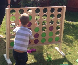Giant Wooden Connect Four