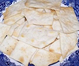 Easy Bake Water Crackers
