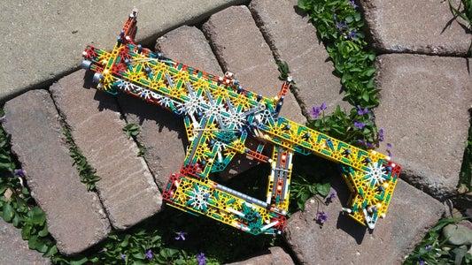 K'NEX Fusion Rifle (Prism Schism) + Internals
