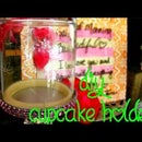 How to make a GLAMMED up cupcake holder