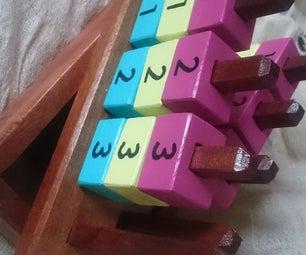 80s Block Game - Number Rumba