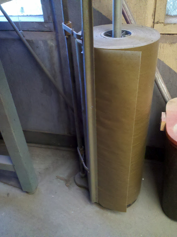 Picture of Paper to Protect the Working Table