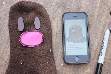 Cut the Diglett Eyes and Nose