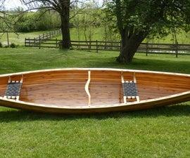Building a Cedar Strip Canoe Slideshow