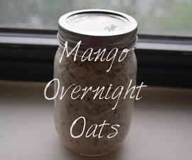 Delicious Mango Overnight Oats!