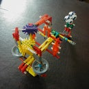 compact K'nex wheel crossbow