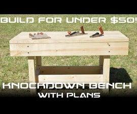 Knockdown Workbench