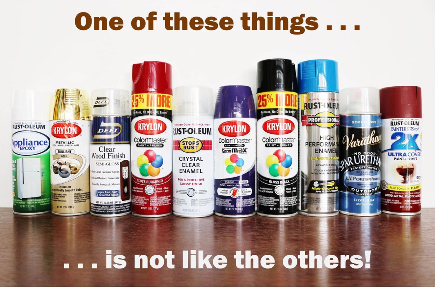 Picture of Spray Paint Secret Safe