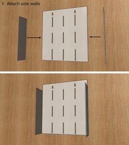 Attach Sidewalls