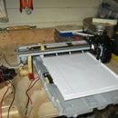 XY plotter from HP printer/scanner