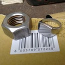 Steel Nut to Signet Ring