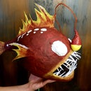 Angler Fish Pinata and Silly Blindfold