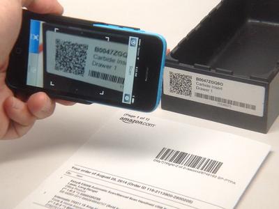 Scan QR Code on SmartLabel
