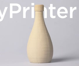How to Print a Ceramic Cup With Clay 3D Printer at Home