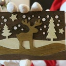 How To Make Wooden Christmas Cards