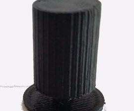 Paper sketch to Prototype: 3D Printed Knob