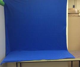 How to create a set (bluescreen)