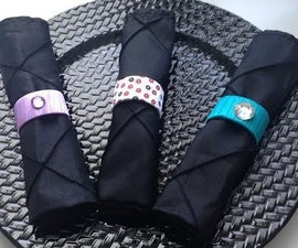 How to Make Napkin Rings From Cardboard Rolls - Very Easy!