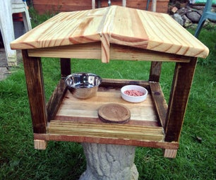 How to Make a Bird House From  a Pallet