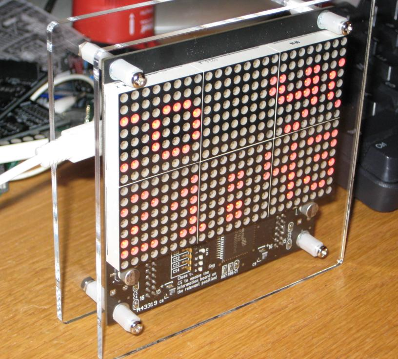 """Picture of Assembling """"Wise Clock 2"""" (Arduino-based Alarm Clock With Lots of Extra Features)"""