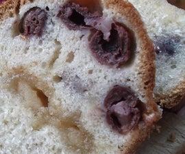 morello cherry and marzipan bundt cake
