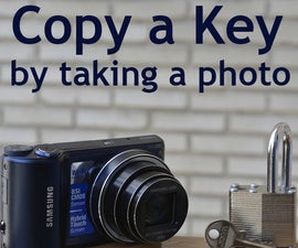 Make a Copy of the Key from a Photo