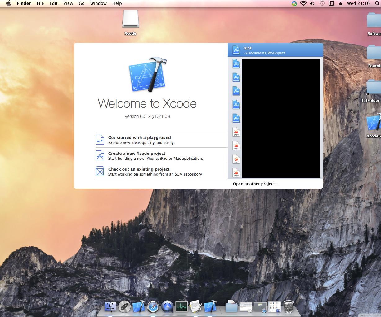 Xcode 6 3 on OSX 10 9 5 (swift 1 2, Ios 8 3,    ): 4 Steps