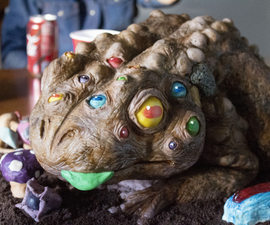 The Mutant Toad Cake With Tricky Treats...