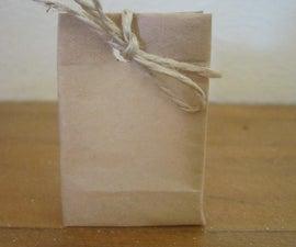 Miniature gift bags