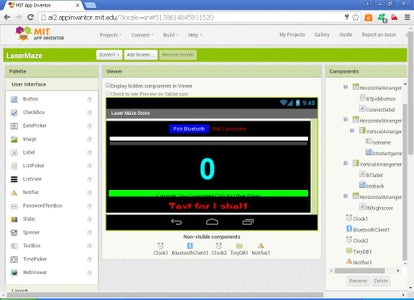 Android App Using MIT App Inventor