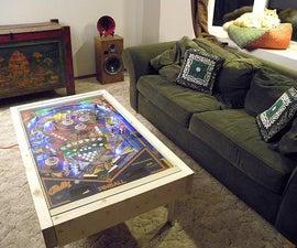 LED Pinball coffee table