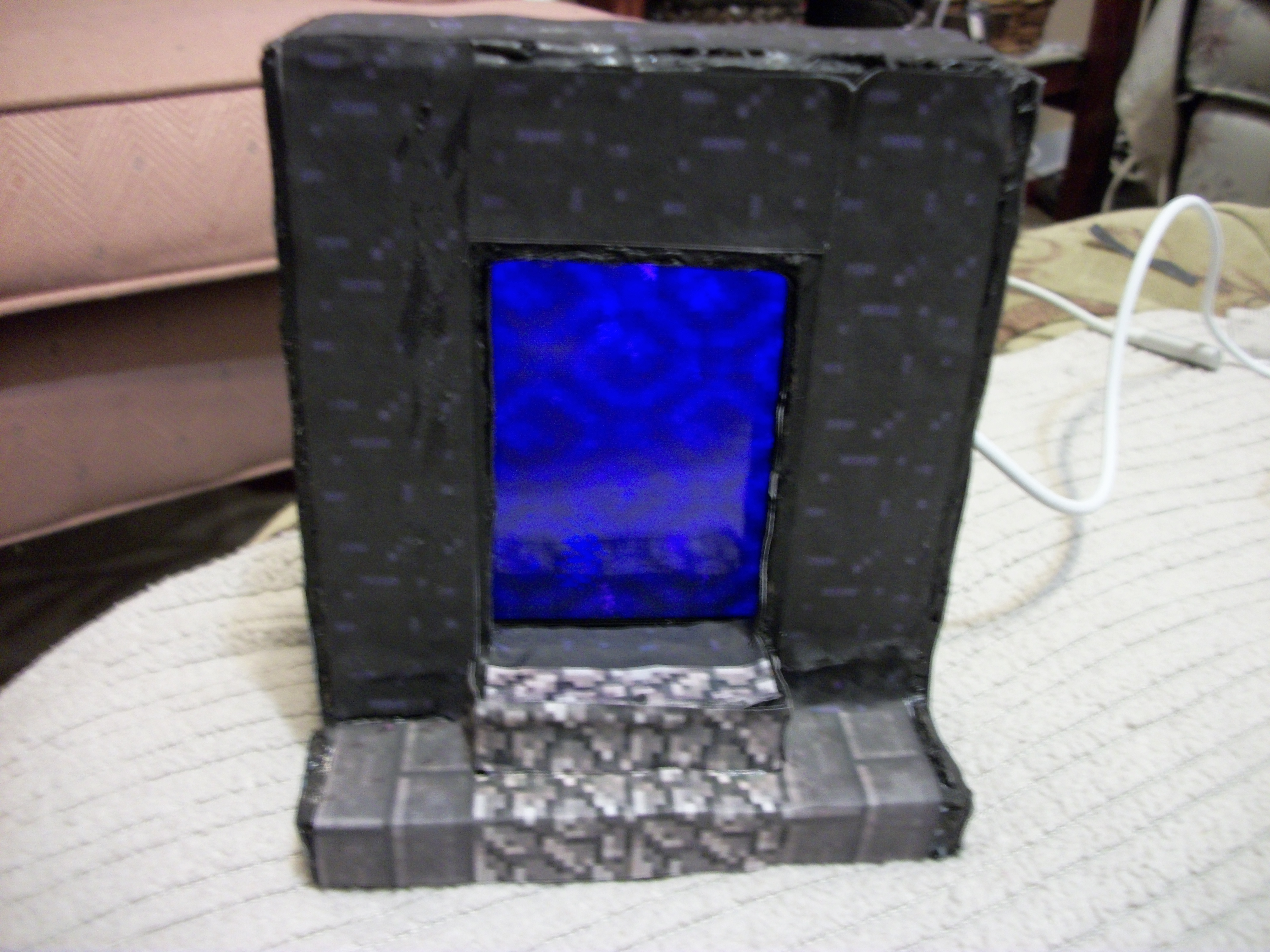 Picture of Minecraft Nether Portal IPod Dock