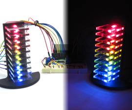 Mini LED Volume Towers (VU meters)