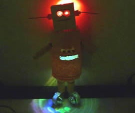 Sketchy Low-Budget Instructables Robot