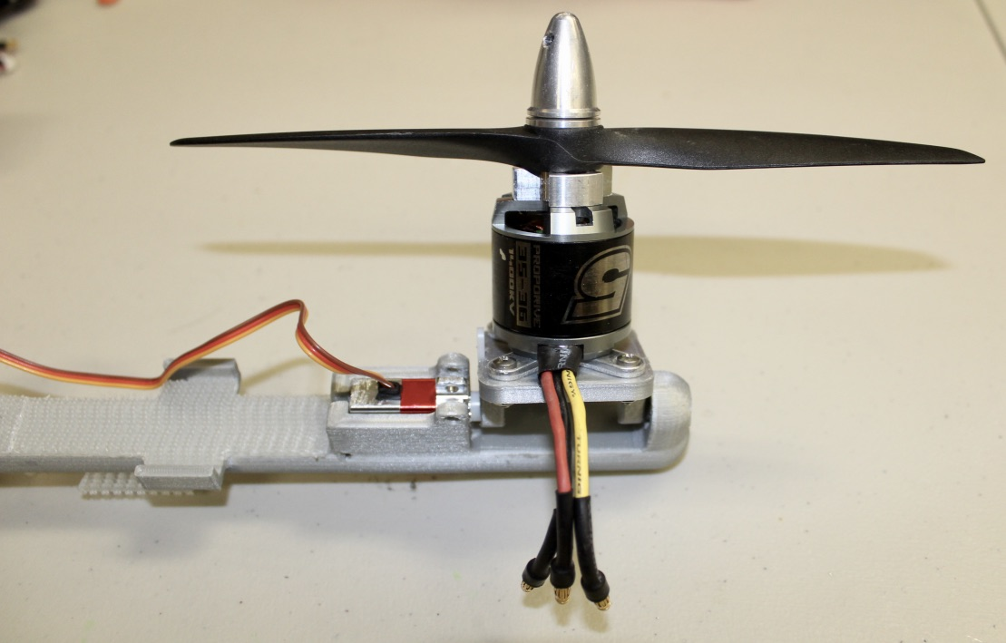 Picture of Installing the Motors
