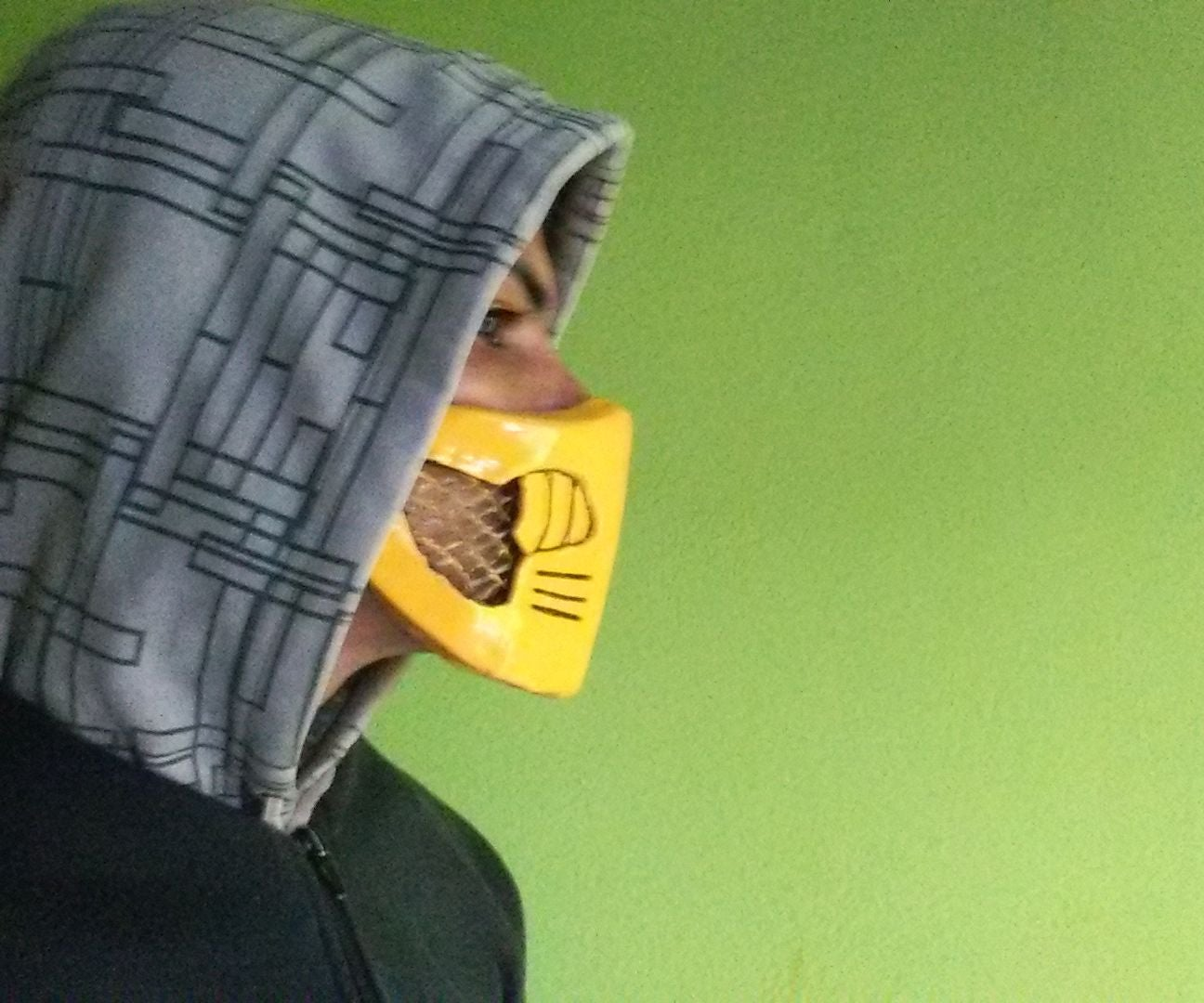 Mask Scorpion Mortal Kombat X Mkx Instructables