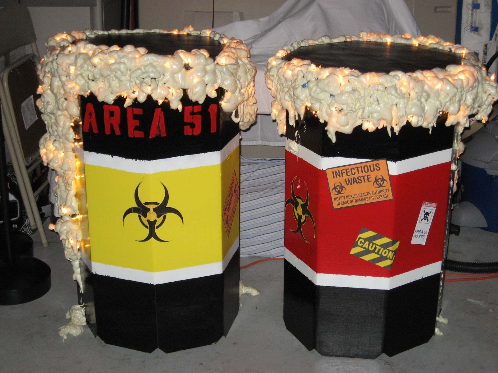 Picture of Toxic Waste Barrels
