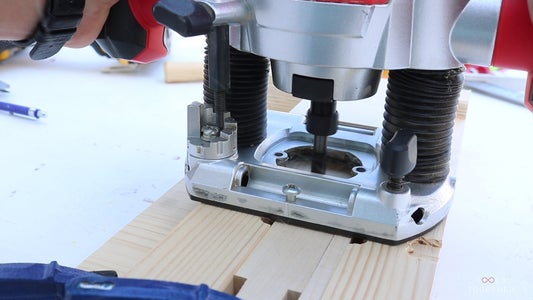 Making the Jig for the Crossed Parts