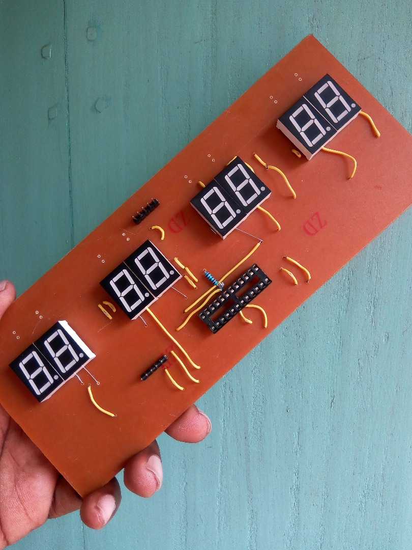 Picture of Solder All the Components