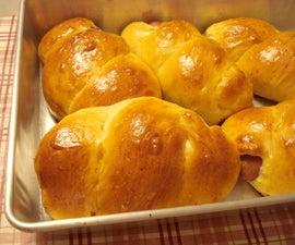 Asian hot dog buns