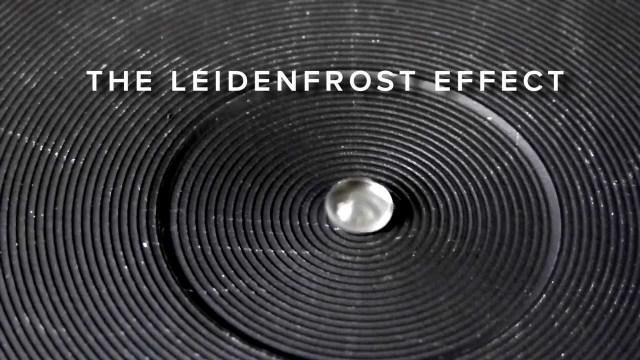 Picture of Het Leidenfrost-Effect - Een Demonstratie