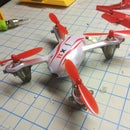 Installing Syma X11 with Hubsan X4 motors