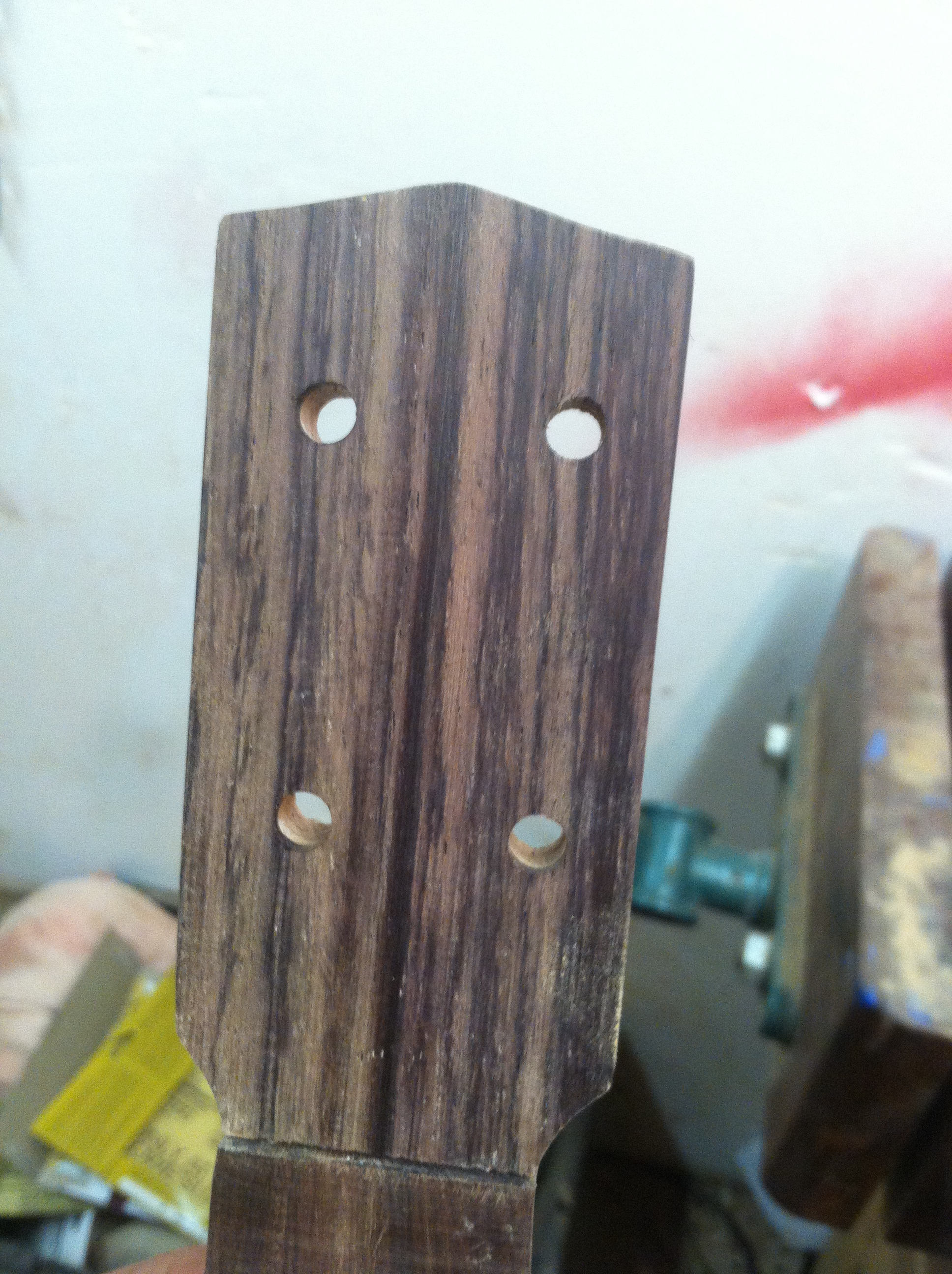 Picture of Finishing the Neck