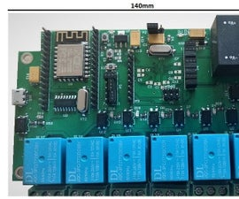 WIFI Eight Relay Board
